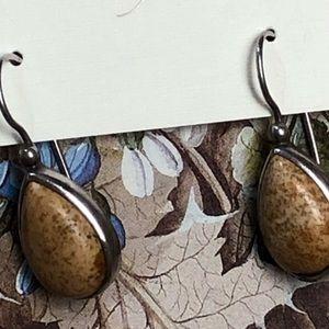 Janice Girardi Design Jewelry - Picture Jasper Earrings